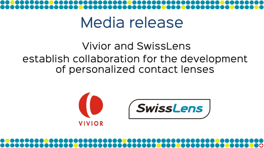 Medienmitteilung – Vivior & SwissLens