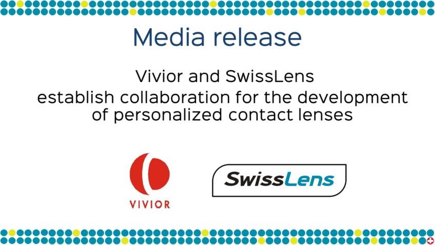 Media release – Vivior & SwissLens