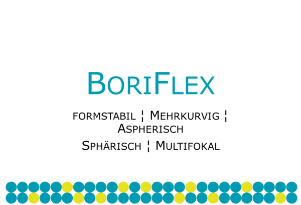 BoriFlex formstabile Mehrstärken-Kontaktlinse