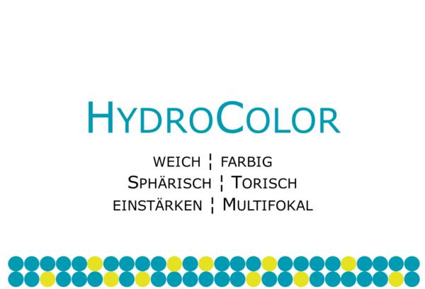HydroColor kosmetische Farblinse