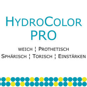 HydroColor Pro prothetische Weichlinse