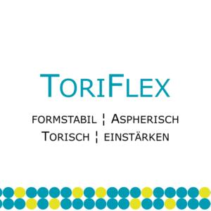 ToriFlex torische formstabile Kontaktlinse