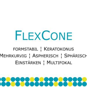 FlexCone formstabile Keratokonuslinse