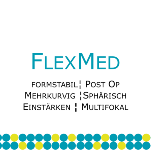 FlexMed formstabile postoperative Kontaktlinse