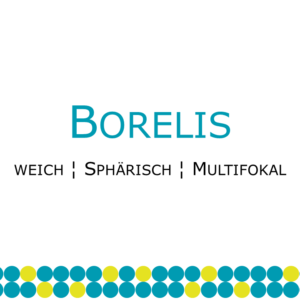 Borelis weiche multifokale Kontaktlinse