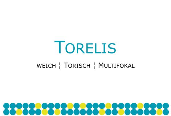 Torelis torische multifokale Weichlinse