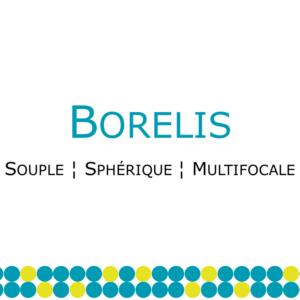 Borelis lentille souple multifocale