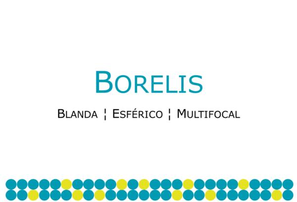 Lente multifocal suave Borelis