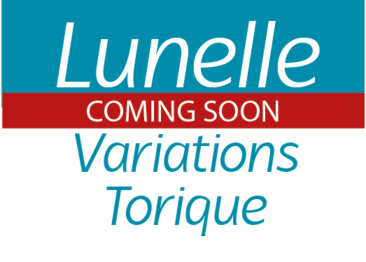 Lunelle logo Variations Torique coming soon